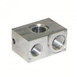 Blocco in alluminio per...